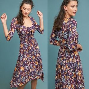 ANTHROPOLOGIE Maeve Beloved Dress in Floral